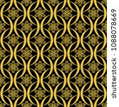 abstract seamless pattern of... | Shutterstock .eps vector #1088078669