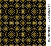abstract seamless pattern of... | Shutterstock .eps vector #1088082959