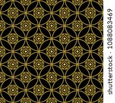 abstract seamless pattern of... | Shutterstock .eps vector #1088083469