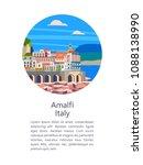 Amalfi Coast  Italy. Seaside...