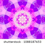 abstract background lilac... | Shutterstock . vector #1088187653