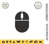 Maus mit Draht Symbol Kostenlos von Clean Line Set 1