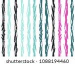 bohemian watercolor brush... | Shutterstock .eps vector #1088194460