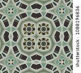 abstract geometric vector... | Shutterstock .eps vector #1088196836