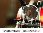 headlight part of motorcycle...   Shutterstock . vector #1088206310
