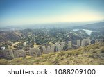 view from behind the hollywood... | Shutterstock . vector #1088209100