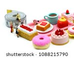 miniature people   beautiful... | Shutterstock . vector #1088215790