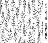 hand drawn cute seamless... | Shutterstock .eps vector #1088223476