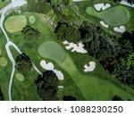 aerial photograph of golf... | Shutterstock . vector #1088230250
