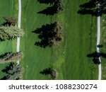 aerial photograph of golf... | Shutterstock . vector #1088230274