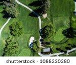 golf course. bunker. viewpoint... | Shutterstock . vector #1088230280