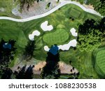 a beautifully maintained golf... | Shutterstock . vector #1088230538
