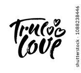 True Love Postcard. Phrase For...