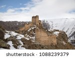 Devil Castle (Seytan Kalesi), also known as Cildiran Castle and Kal-I Devil, escape, demon fortress is also passed, Ardahan nearby Kars, Turkey