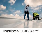 construction engineer wear... | Shutterstock . vector #1088250299