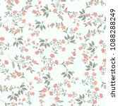 orient seamless floral pattern. ... | Shutterstock .eps vector #1088288249