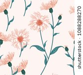seamless floral pattern with... | Shutterstock .eps vector #1088288270