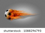 realistic vector soccer ball in ...