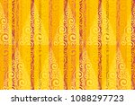 complicated swirl and stripes... | Shutterstock .eps vector #1088297723