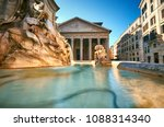 fountain on piazza della... | Shutterstock . vector #1088314340