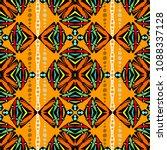 native aztec style tribal... | Shutterstock .eps vector #1088337128