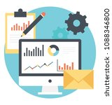 website promotion  online... | Shutterstock .eps vector #1088346800