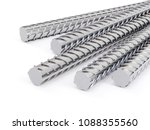 3d steel reinforcements rebar ... | Shutterstock . vector #1088355560