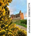 Crichton Castle At Dusk  Set...