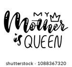 happy mother's day postcard.... | Shutterstock .eps vector #1088367320