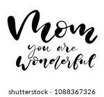 happy mother's day postcard.... | Shutterstock .eps vector #1088367326