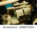 engine part of motorcycle model ...   Shutterstock . vector #1088375264