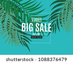 abstract summer sale background ...   Shutterstock .eps vector #1088376479