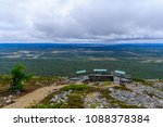 landscape from the summit of... | Shutterstock . vector #1088378384