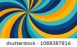 yellow and blue bright color... | Shutterstock .eps vector #1088387816