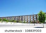 aqueduct in old city of elvas ... | Shutterstock . vector #108839303