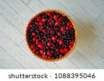 Colorful Mixed Berries Fruit...
