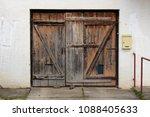 Old Dilapidated Wooden Garage...