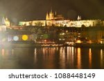 Night Scenery Of Prague  Czech...
