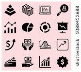 filled business icon set such...   Shutterstock .eps vector #1088452688