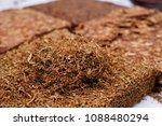 tobacco texture. high quality... | Shutterstock . vector #1088480294