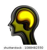 inner emotional concept ... | Shutterstock .eps vector #1088482550