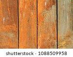 wooden texture painted board... | Shutterstock . vector #1088509958