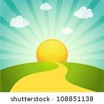 vector illustration of field... | Shutterstock .eps vector #108851138