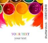 art studio paints  palette