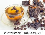 healing tea from cones of alder ...   Shutterstock . vector #1088554793