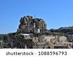 Small photo of Italy, Basilicata, Matera, city of stones, Unesco heritage, capital of European culture 2019. Rock Church Santa Maria de Idris