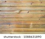 empty wooden planks background | Shutterstock . vector #1088631890