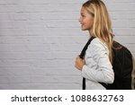 portrait of happy smiling...   Shutterstock . vector #1088632763