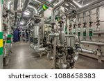 central heating system in the... | Shutterstock . vector #1088658383