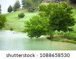 wheat fields landscape | Shutterstock . vector #1088658530